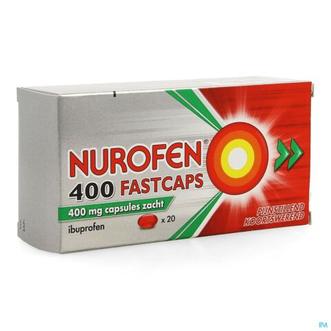 Nurofen 400mg Fastcaps 20 Dragees