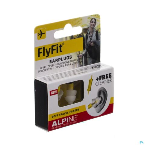 Alpine Fly Fit Oordoppen 1 Paar