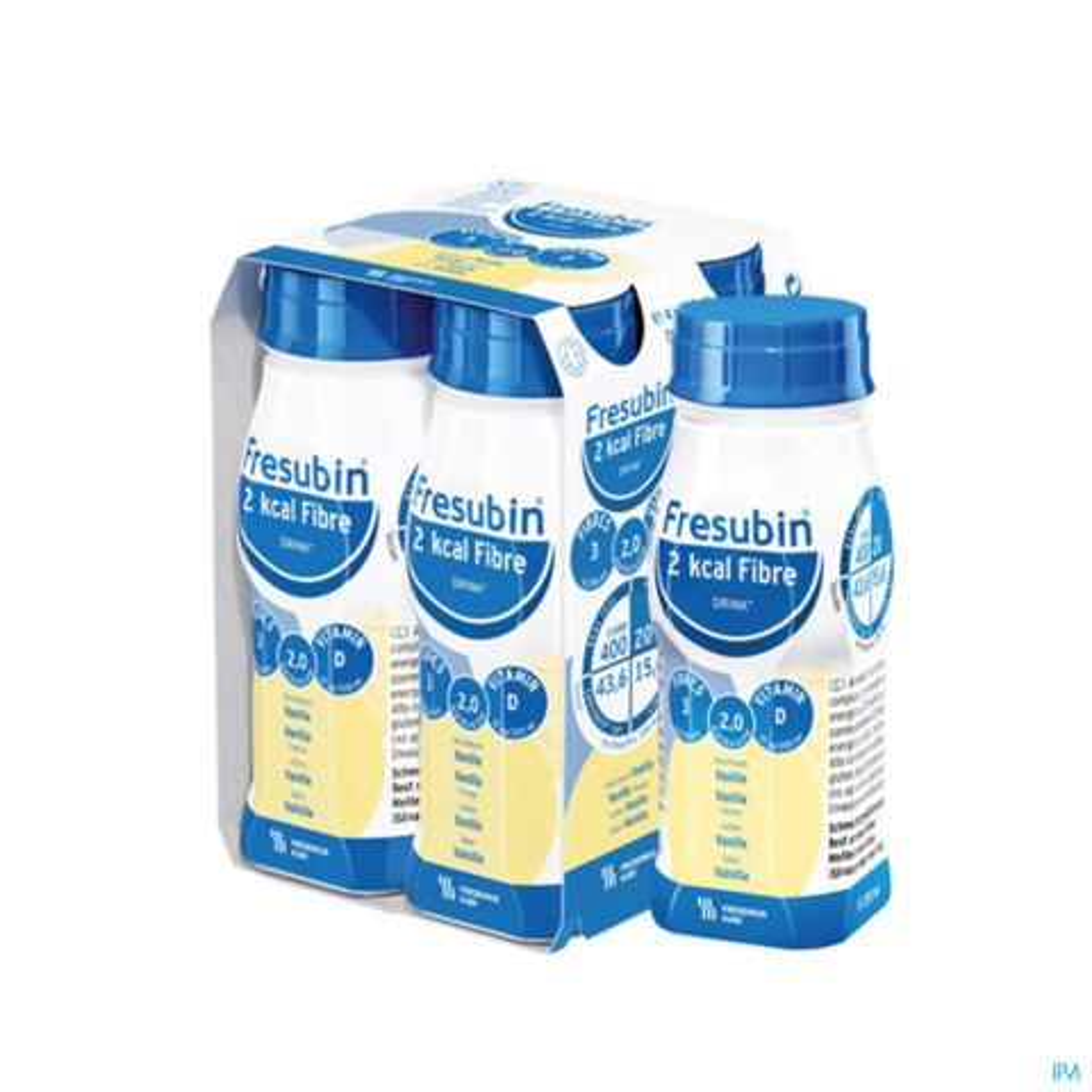 Fresubin 2 Kcal Fibre Drink 200ml Vanille