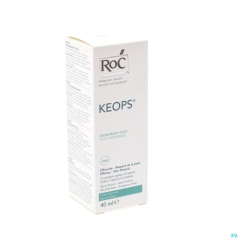 Roc Keops Deo Zonder Alcohol Stick 40ml