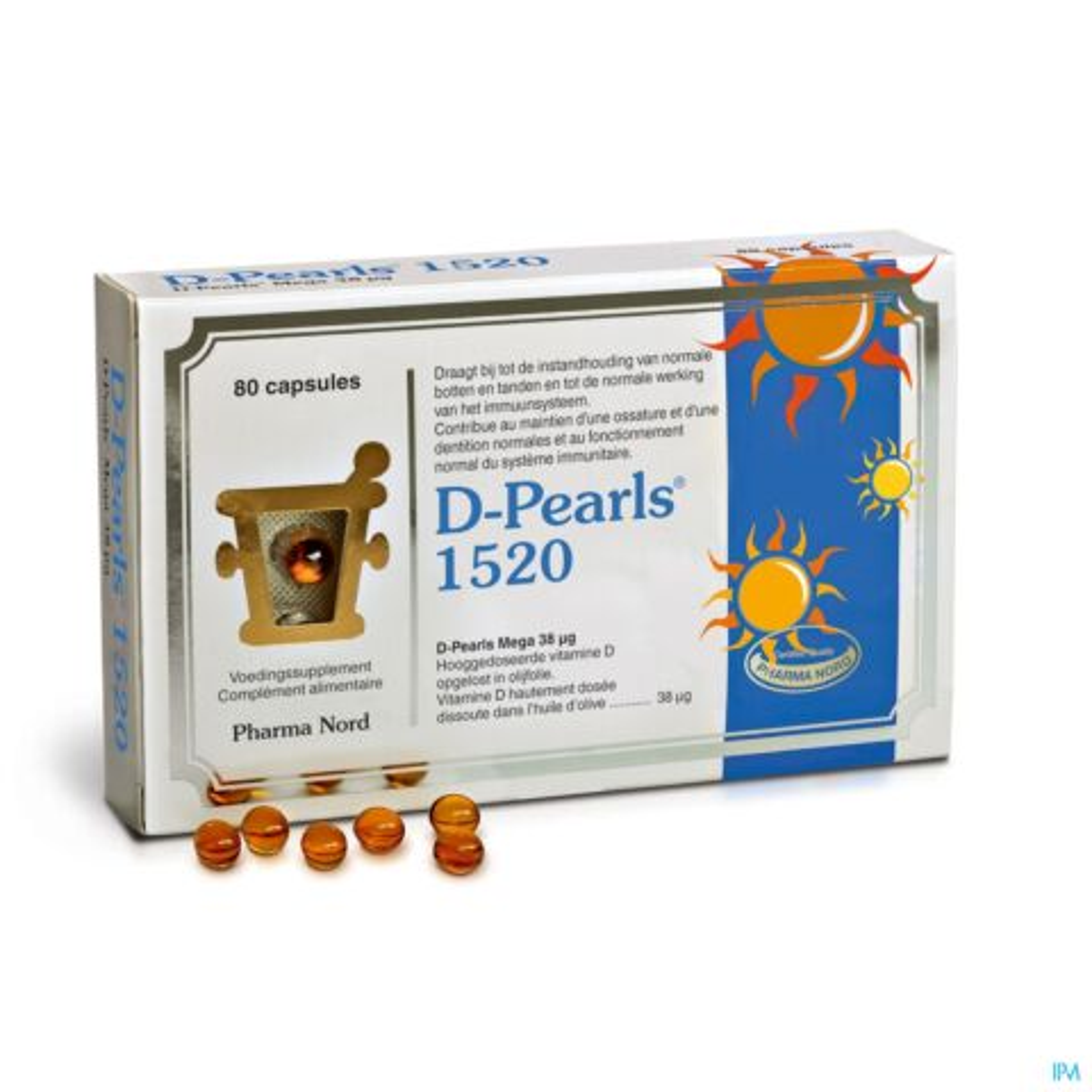 D-Pearls 1520 80 Capsules