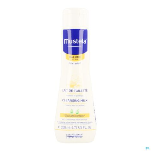 Mustela Toiletmelk Droge Huid 200ml