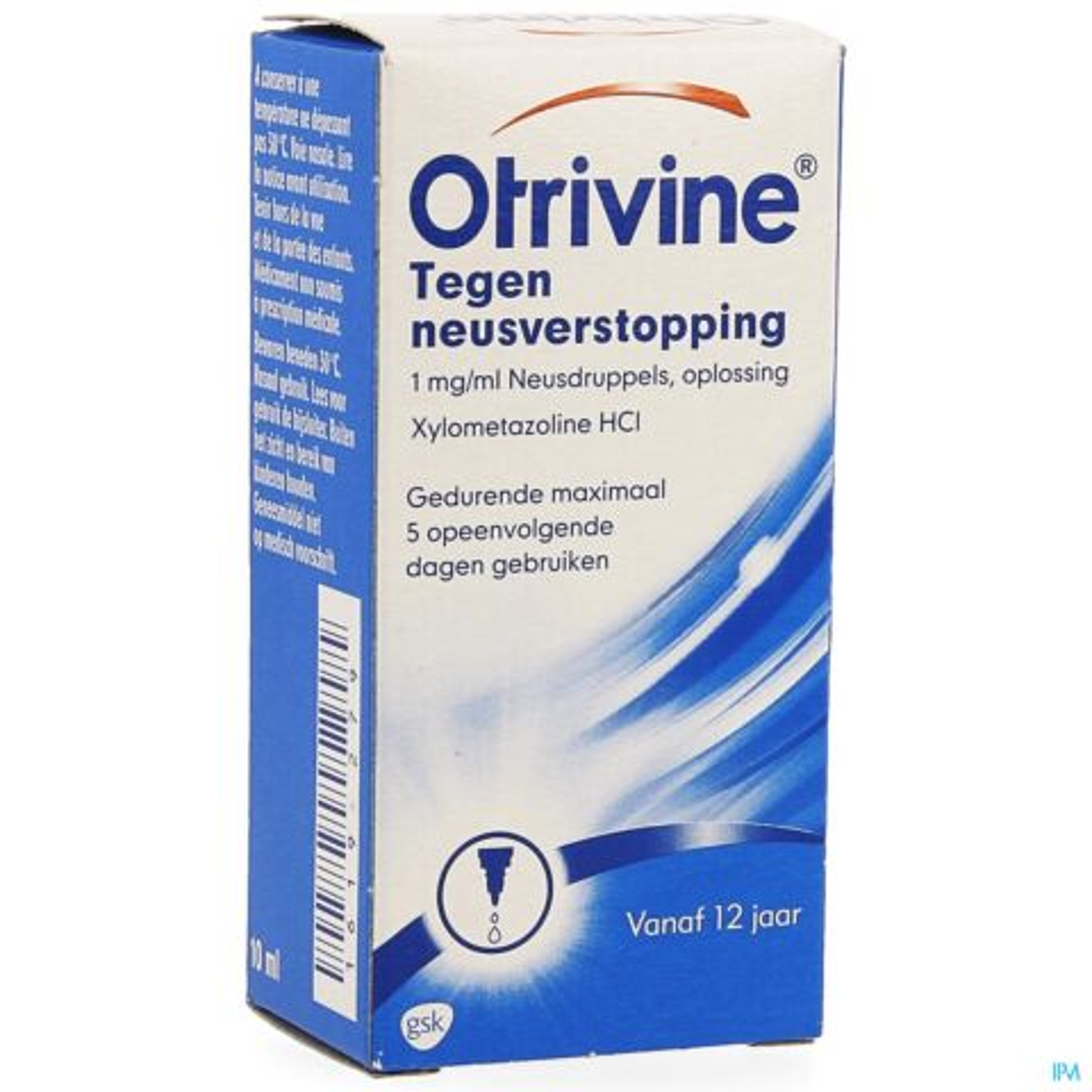 OTRIVINE HYDRAT 1 0/00 GUTT 10ML