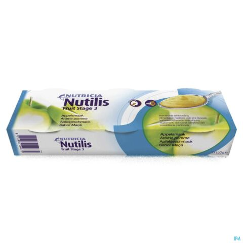 NUTILIS FRUIT STAGE 3 APPEL 3X150G