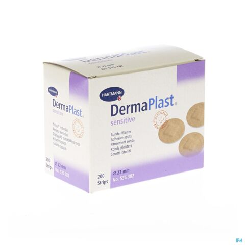 Dermaplast Sensitive 22mm 200 Stuks