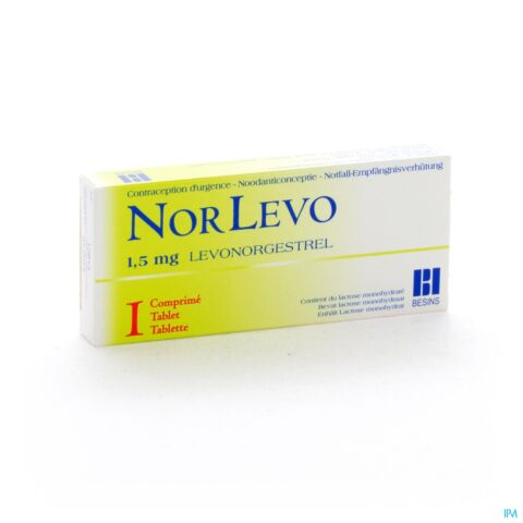Norlevo 1,5mg 1 Tablet