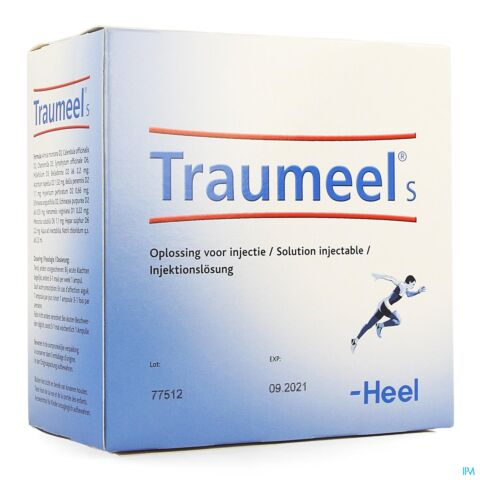 Traumeel s amp 100x2,2ml heel