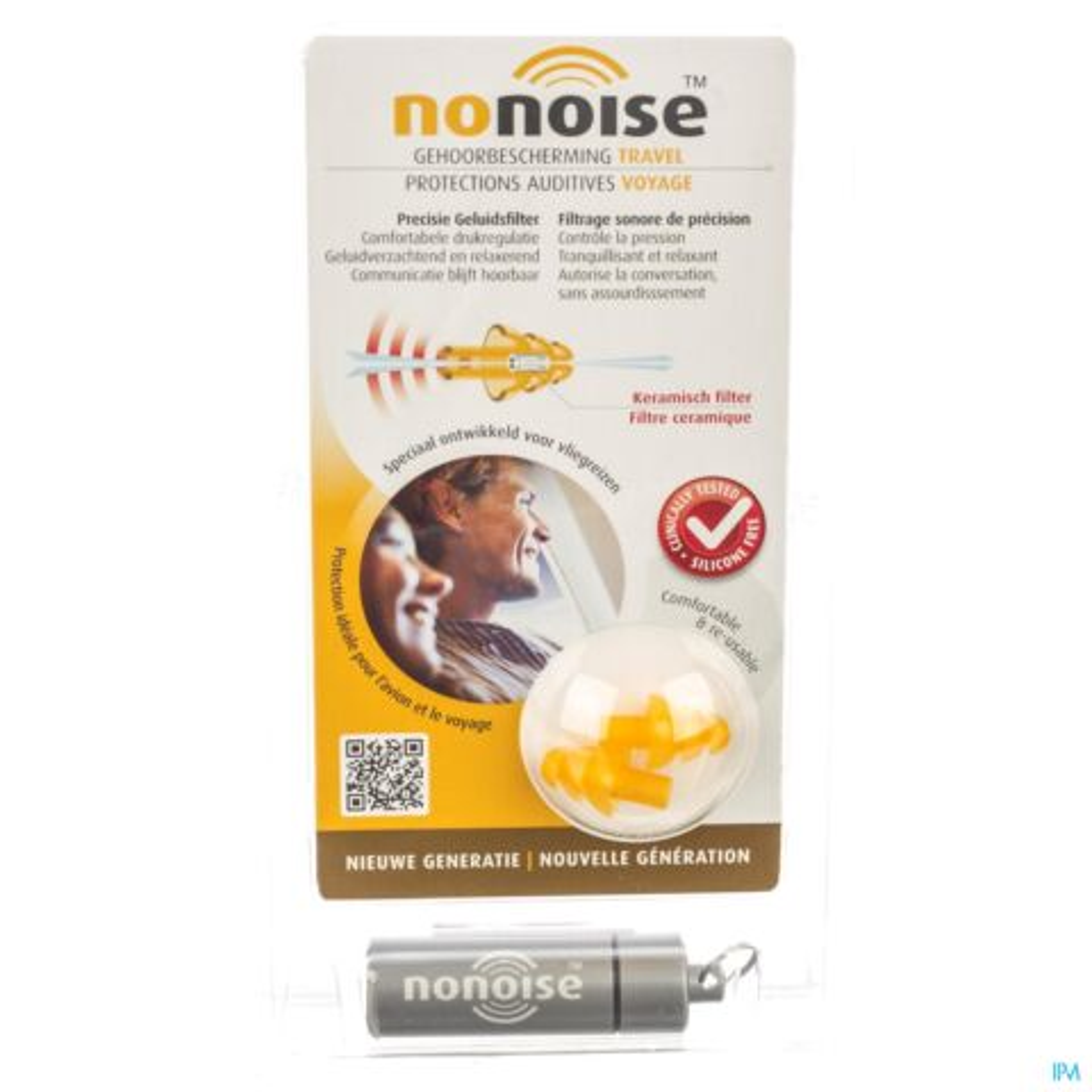 NoNoise Travel Gehoorbescherming 1 Paar