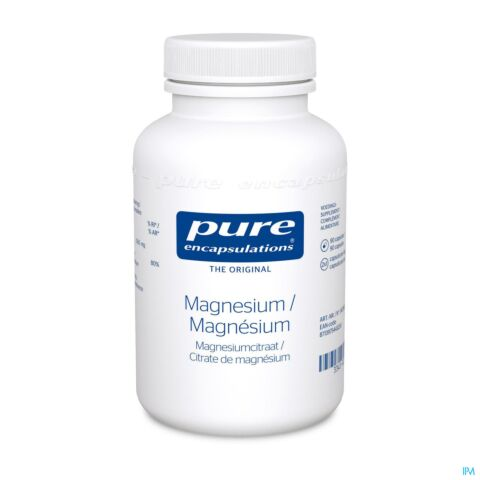 Pure Encapsulations Magnesium Citraat 90 Capsules