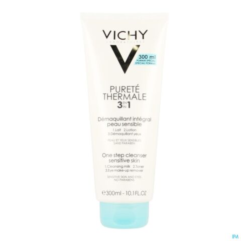 Vichy Pureté Thermale Make-up Verwijdering 3in1 300ml