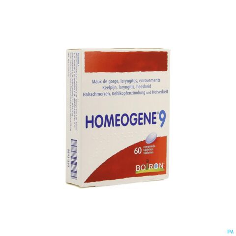 Boiron Homeogene N 9 60 Tabletten