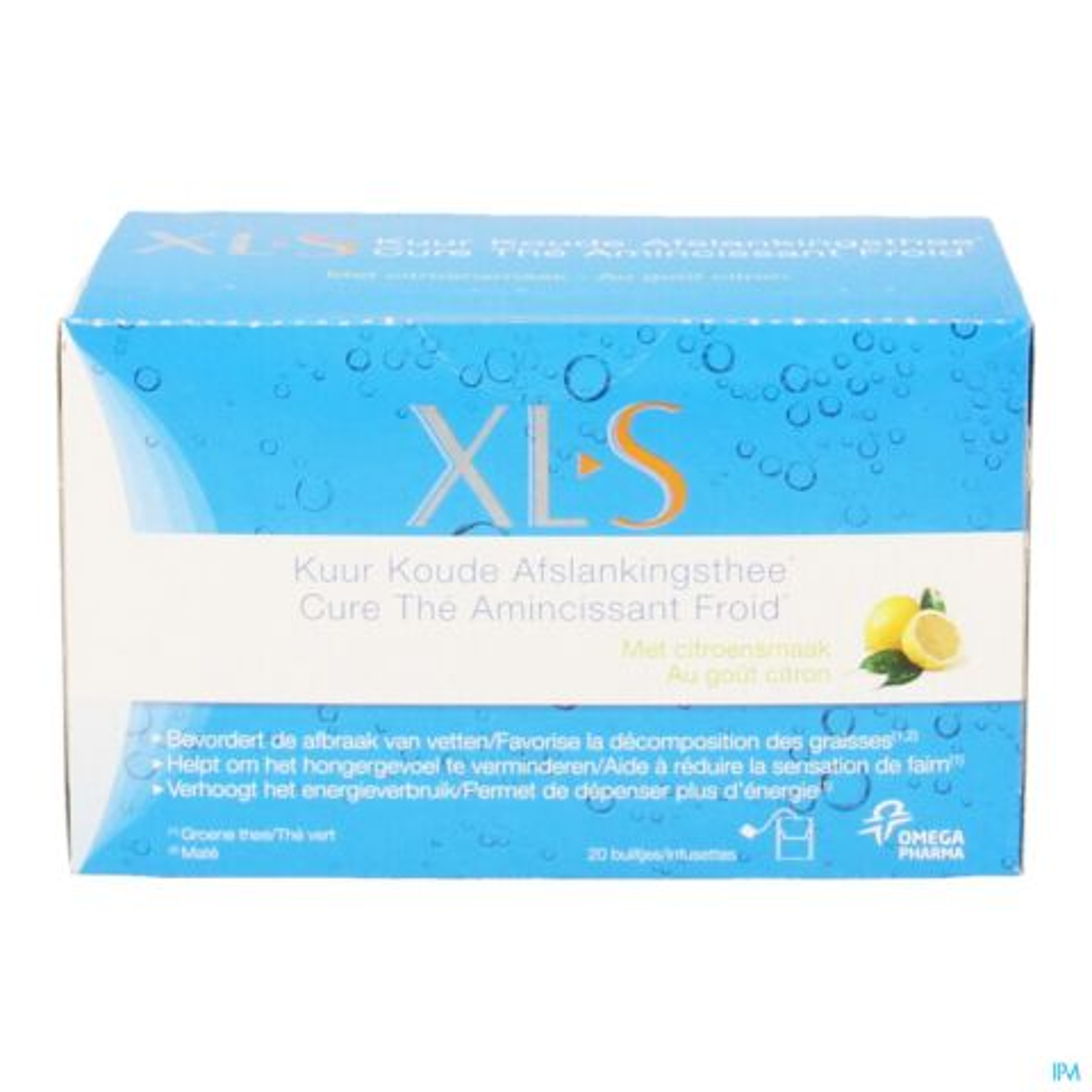 XLS Kuur Koude Afslankthee 20 Stuks