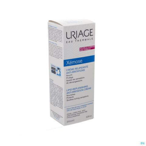 Uriage Xémose Crème Relipiderend Anti-Irritatie Tube 200ml
