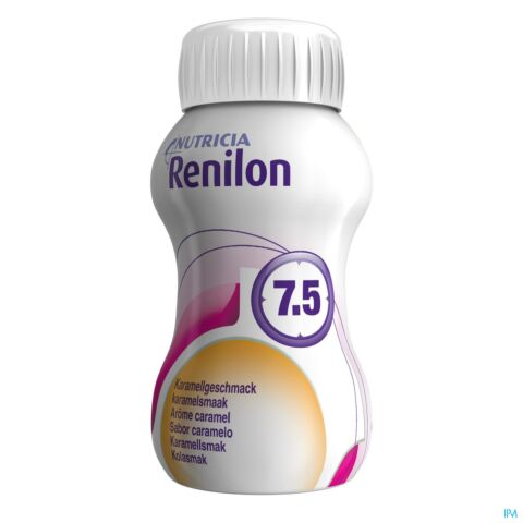 RENILON 7.5 KARAMEL FLES 4X125ML 570978