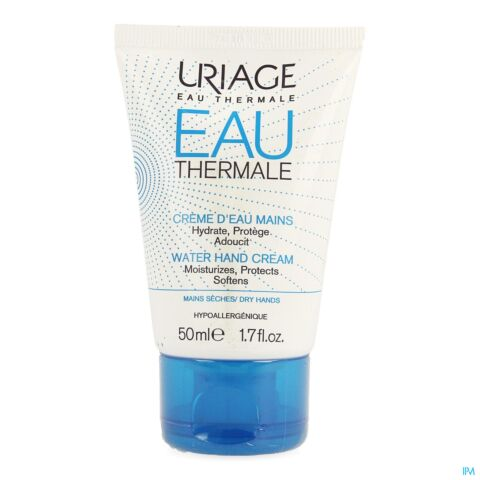 Uriage Thermaal Water Watercrème voor de Handen Tube 50ml