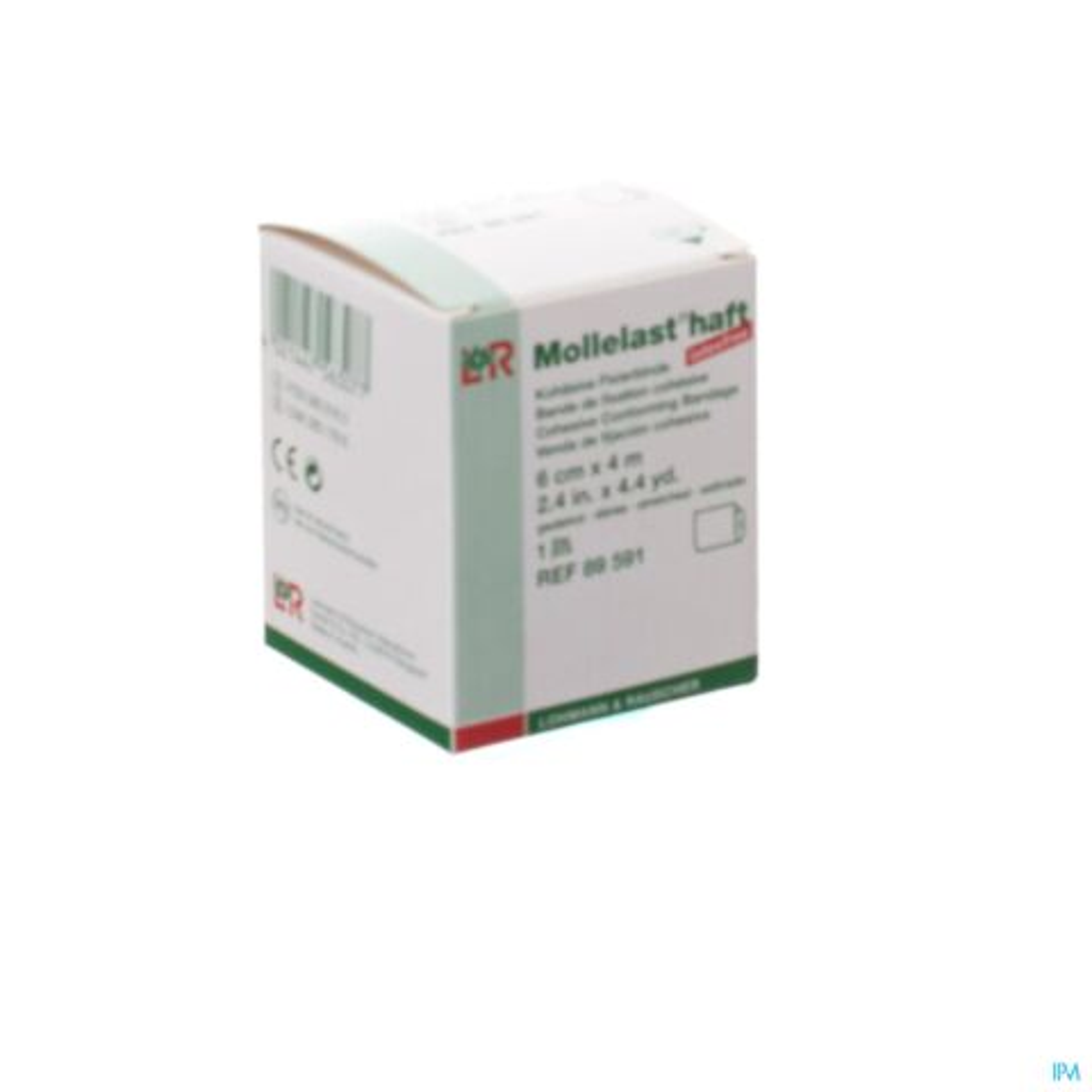 MOLLELAST HAFT WINDEL ADH LAT.FREE 6CMX 4M 89591