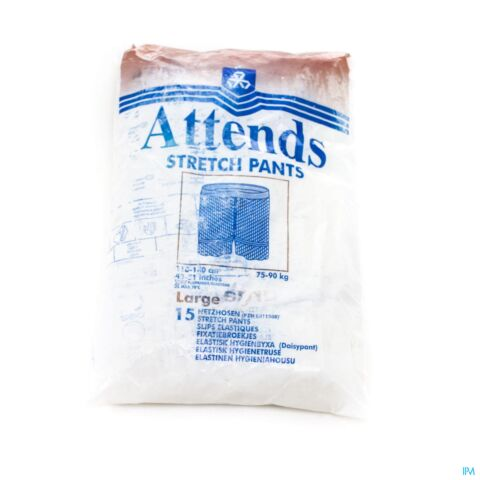 ATTENDS SLIP STRETCHPANT FIXATIE LARGE 1X15