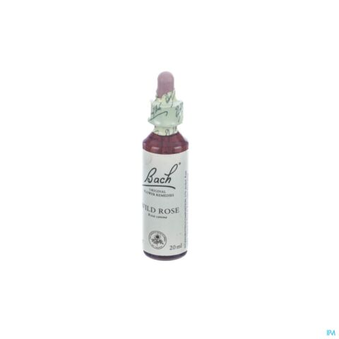Bach Flower Wild Rose 20ml