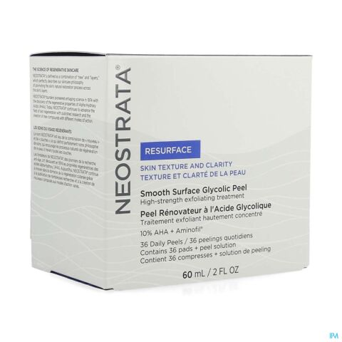 Neostrata Smooth Surface Glycol.peel Pads 36+ 60ml