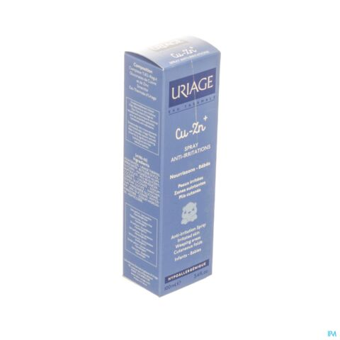 Uriage 1e Spray Cu-Zn+ Anti-Irriterende & Kalmerende Spray 100ml