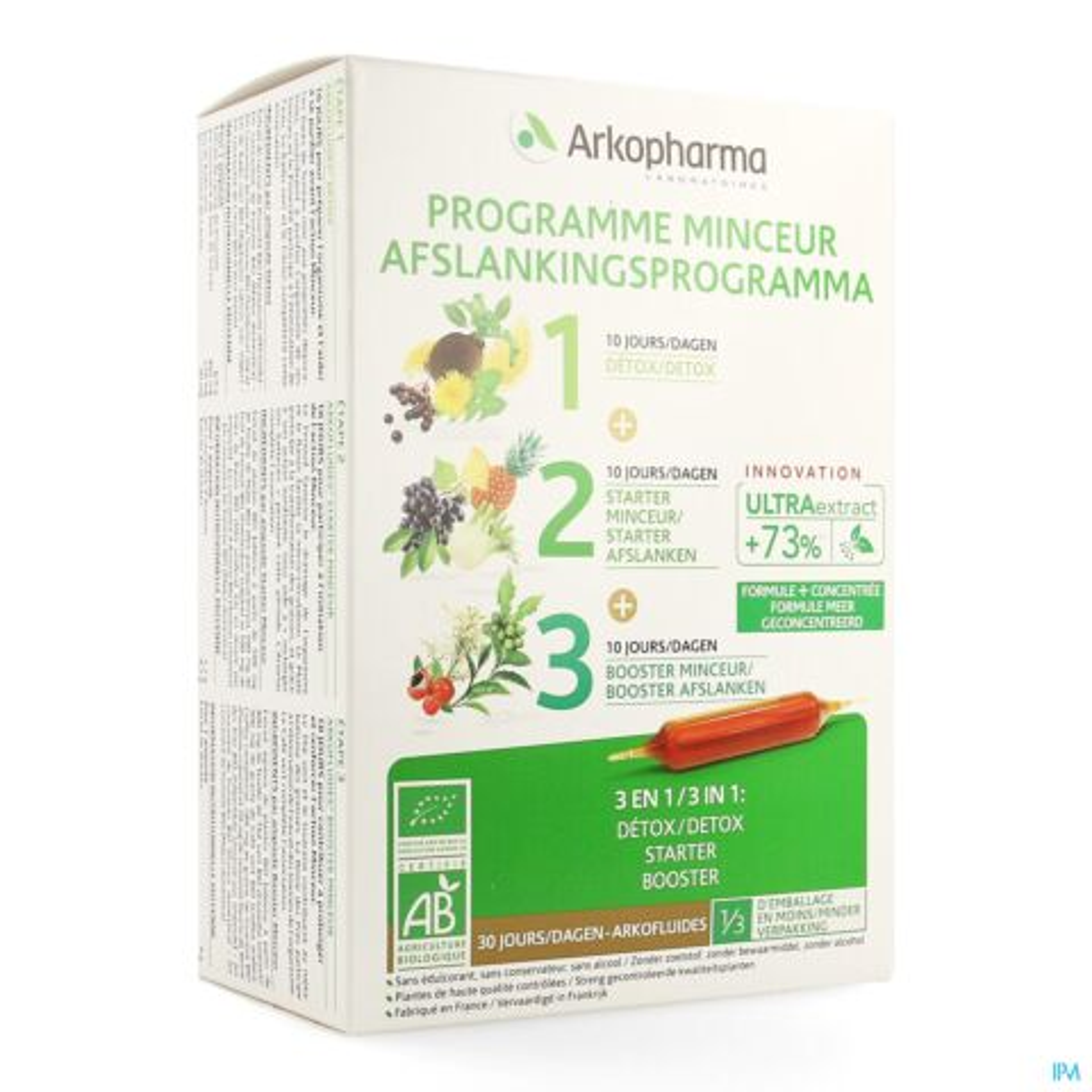 Arkofluide Afslank Programma Ampoules 30x15ml