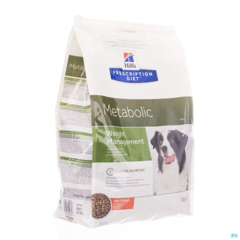 Hills Prescription Diet Canine Hond Metabolic 4kg