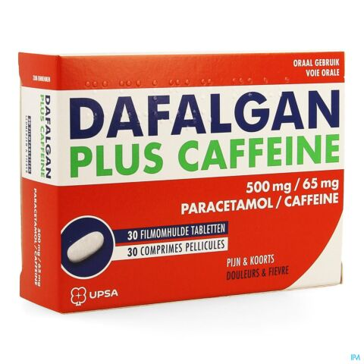 Dafalgan Plus Caffeine 30 Tabletten
