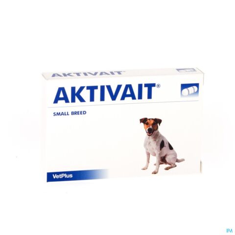 AKTIVAIT SMALL BREED BLISTER 60 CAPS