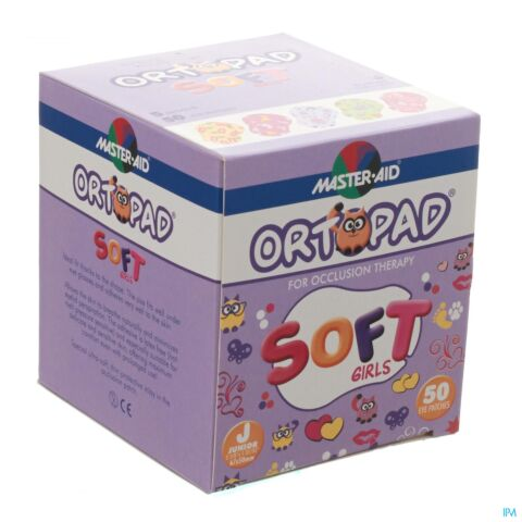 Ortopad Soft Girls Junior 67x50mm 50 Stuks
