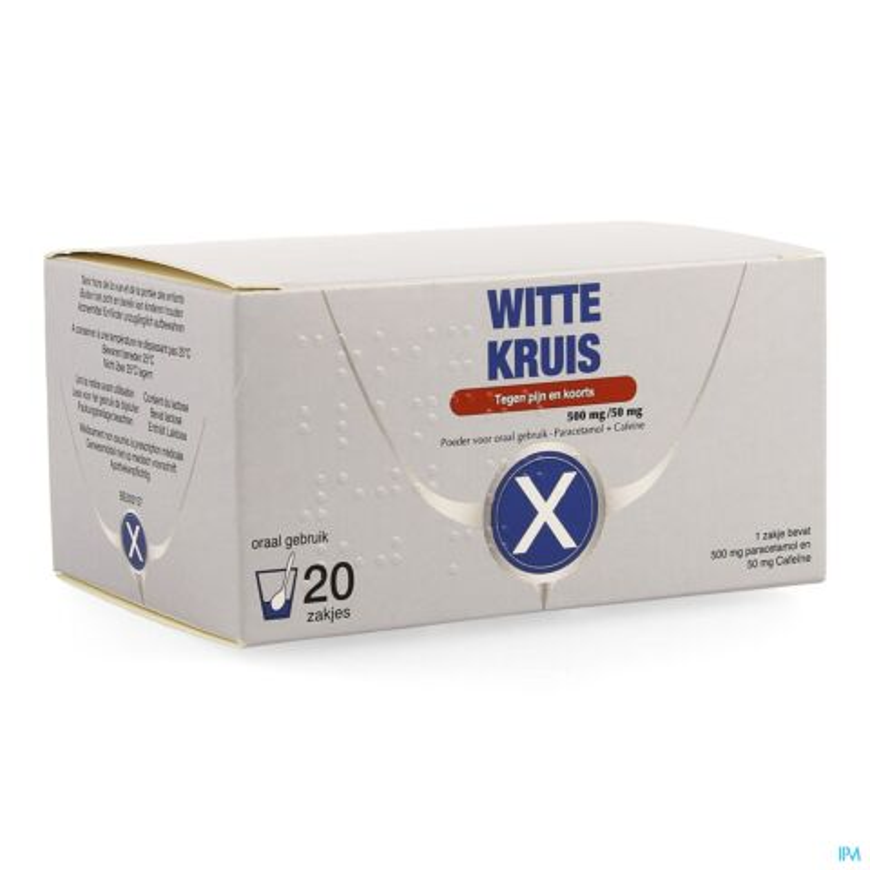 Wit Kruis 20 Zakjes