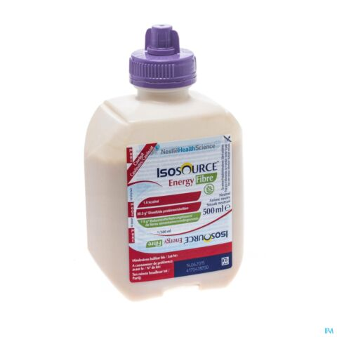 ISOSOURCE ENERGY FIBRE NEUTRAL SMARTFLEX 500ML