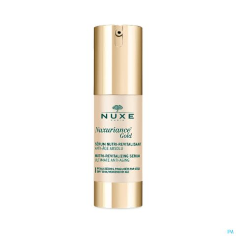 Nuxe Nuxuriance Gold Voedend en Revitaliserend Serum 30ml