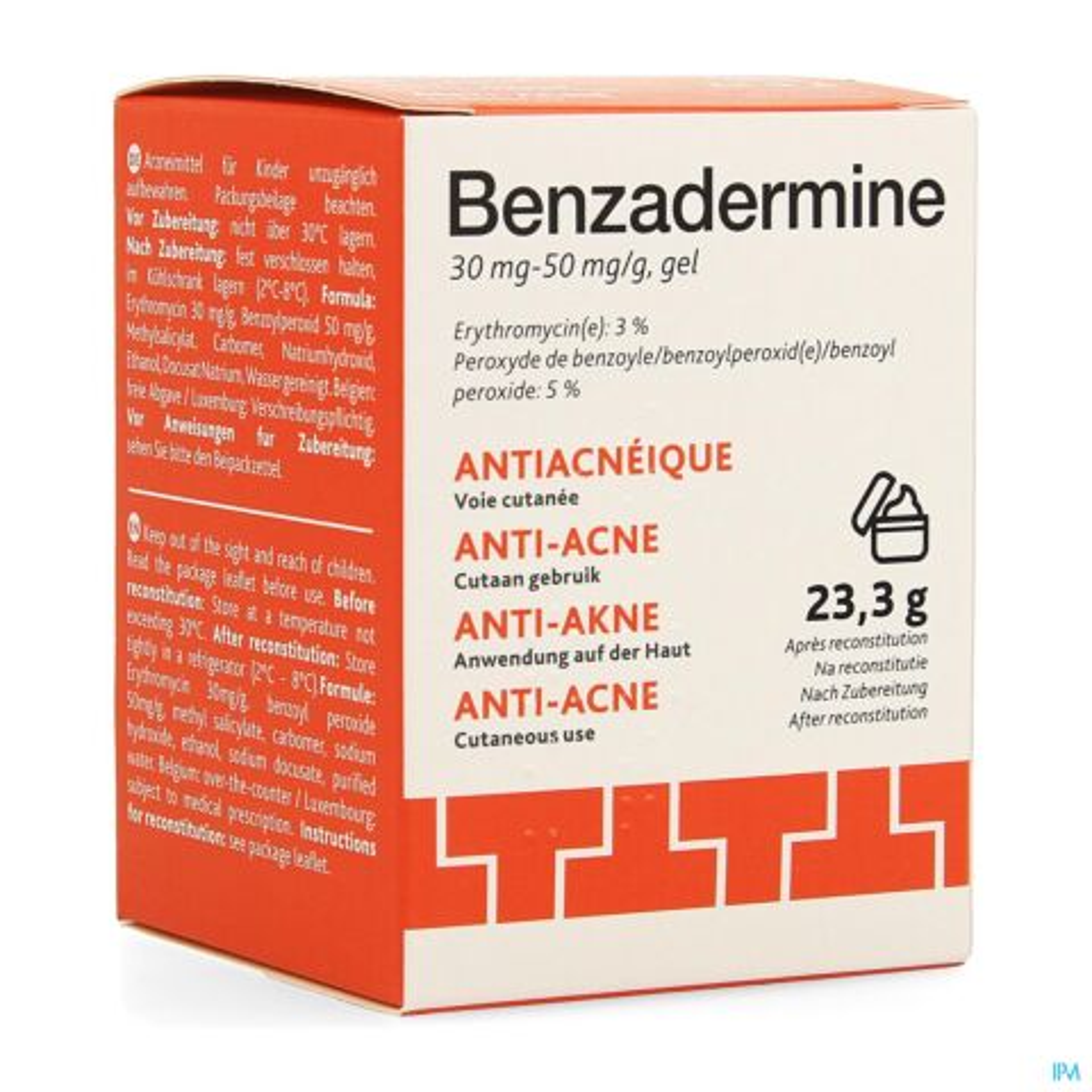 Benzadermine Gel 30g