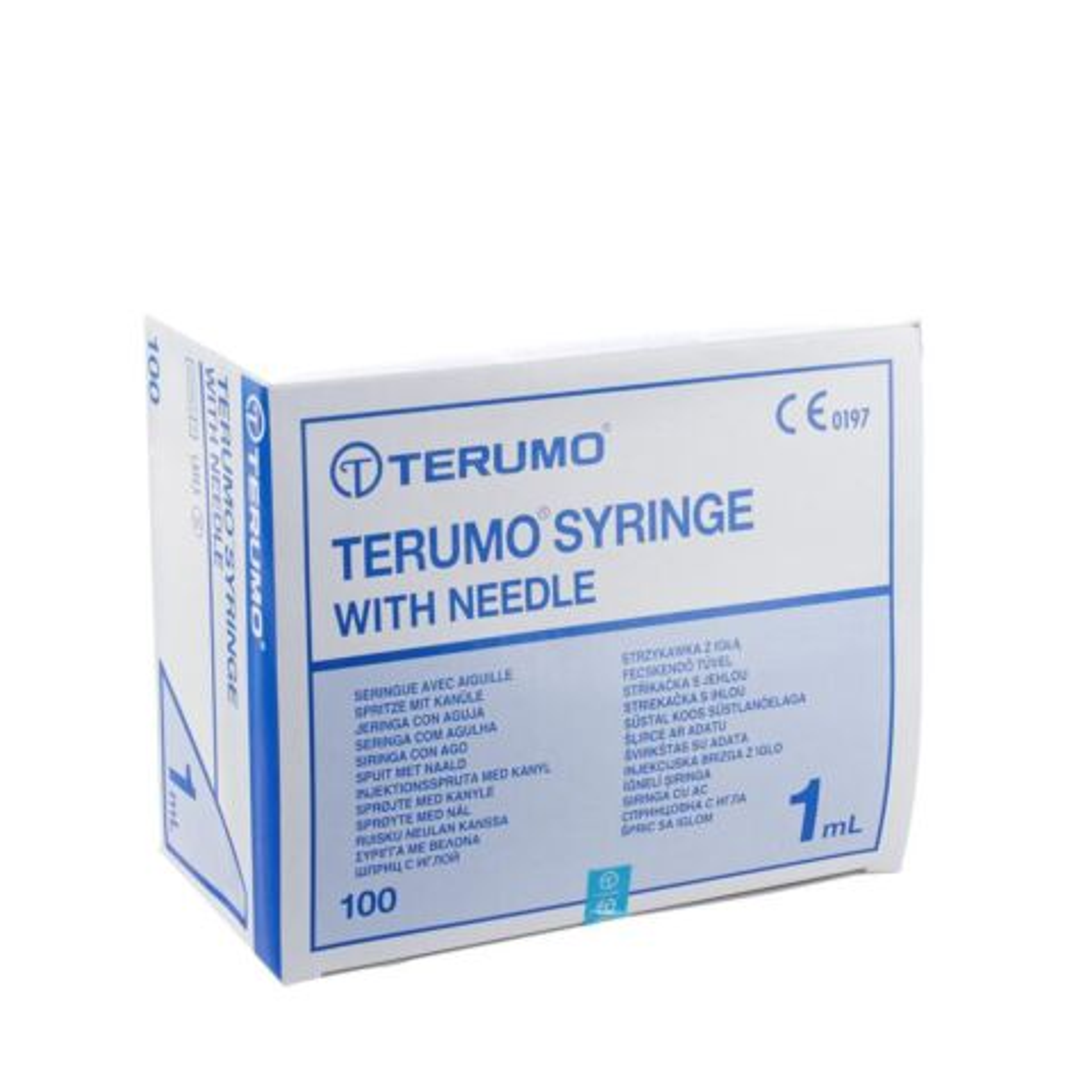WWS-TUBERCULINE TERUMO M-NAALD 26G0,5 100ST